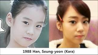 Naturally Beautiful Korean Female Celebrities 한국의 자연...