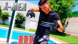 Video GARRAS DE LOBEZNO X-MEN WOLVERINE VS COCA COLA !! Makiman MP3, 3GP, MP4, WEBM, AVI, FLV Agustus 2018