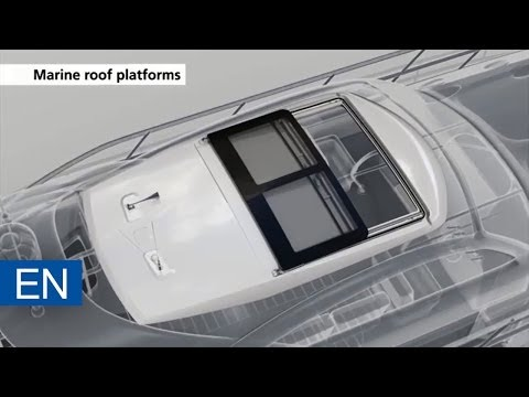 Webasto Marine Roof Platforms – Opening new horizons
