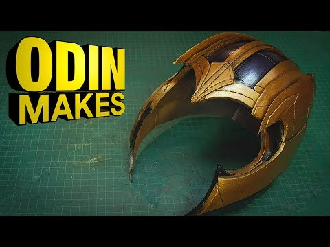 Odin Makes The helmet of Thanos from Avengers Infinity War and