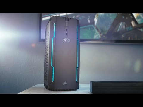 The Corsair One series now supports the powerful NVIDIA GTX 1080Ti