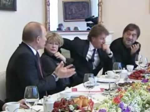 Путин и Шевчук. Полная версия - DomaVideo.Ru