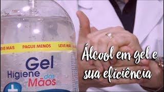 Fica a Dica - Álcool em gel e sua eficiência