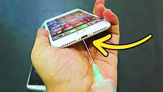 Video 22 EPIC PHONE HACKS YOU MUST SEE MP3, 3GP, MP4, WEBM, AVI, FLV April 2018