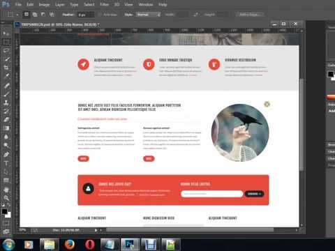 PSD To HTML Live Class Part -1 Bangla Video Tutorial