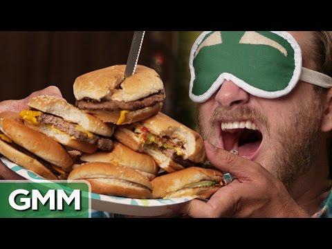 6 • E69___  _    Blind Burger Challenge