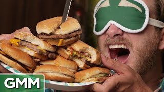 Blind Fast Food Burger Challenge