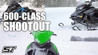 7. 2019 2-Stroke 600-Class Shootout: Ski-Doo VS Arctic Cat VS Polaris
