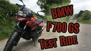 4. BMW F700GS Test Ride