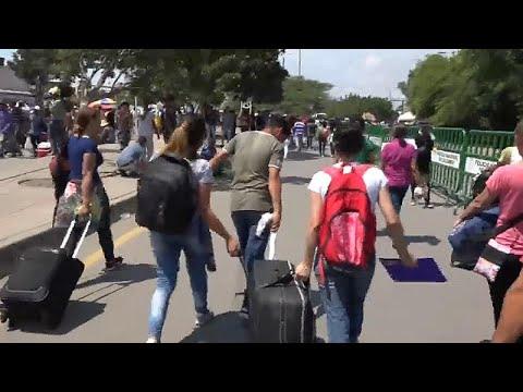 Αυτοψία του euronews στα σύνορα Βενεζουέλας-Κολομβίας