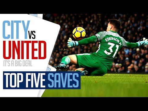 Video: TOP 5 DERBY DAY SAVES | CITY v UNITED