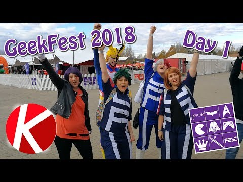 {It didn't rain!} GeekFest 2018 | Day 1