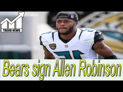 Bears expected to sign wide receiver Allen Robinson for 3 years and $42M