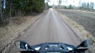 3. Arctic Cat Alterra 1000 TRV on dirt road