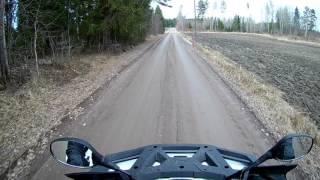 9. Arctic Cat Alterra 1000 TRV on dirt road