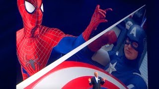 VIDEO: Disney Announced Marvel Land Featuring Spider-Man & Avengers