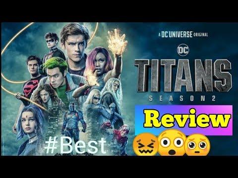 Titans season 2 review in hindi | Netflix | Dc | spoiler free
