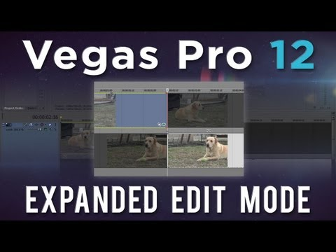 djbeto267 - Let's take a look at the new Expanded Edit Mode introduced in Vegas Pro 12. This mode aims at providing you with a faster, more accurate method of trimming e...