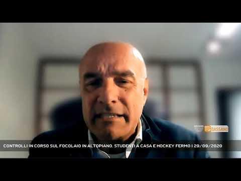 CONTROLLI IN CORSO SUL FOCOLAIO IN ALTOPIANO. STUDENTI A CASA E HOCKEY FERMO   29/09/2020