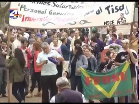 Concentración y acto en Plaza Constitución por el paro decretado por el PIT CNT