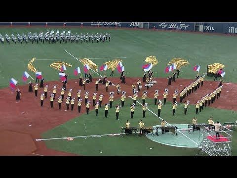 武庫川女子大学付属中学校・高等学校マーチングバンド部♪第57回3000人の吹奏楽