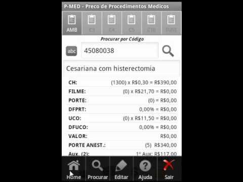 Video of P-MED  Preço AMB, TUSS, CBHPM