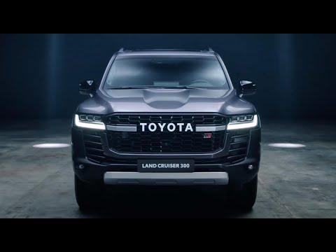 New #Toyota 2022 #LandCruiser 300 GR Sport | Grey Color Exterior.