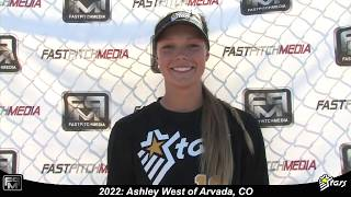 2022 Ashley West 6'3 Pitcher and First Base Softball Skills Video