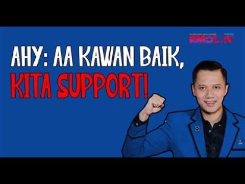 AHY: AA Kawan Baik, Kita Support!