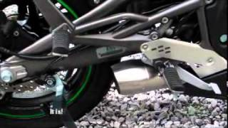 4. HP Corse Hydroform exhaust for Kawasaki Ninja 650R / ER6F
