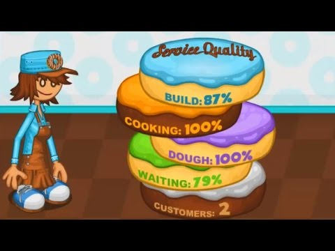Papa's Donuteria Cooking Games Online