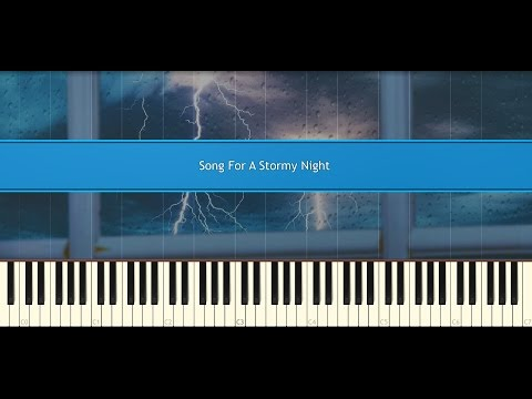 Video Song For A Stormy Night - Secret Garden (Piano Tutorial) download in MP3, 3GP, MP4, WEBM, AVI, FLV January 2017