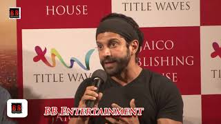 Farhan Akhtar At Book Launch Kashmir Naama