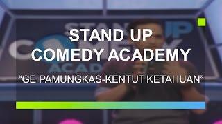 Video Kentut Ketahuan - Ge Pamungkas (Bintang Tamu Stand Up Comedy Academy) MP3, 3GP, MP4, WEBM, AVI, FLV Januari 2018