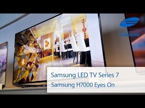 Samsung Series 7 H7000 H7090 SmartTV erster Eindruck auf der CES 2014