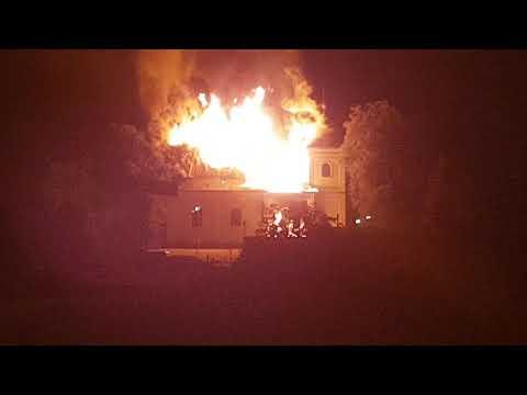 Kaplnka na Rozkvete v plameňoch: VIDEO, z ktorého mrazí