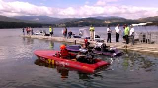 6. 1100 horsepower hydro and 900 horsepower flat bot