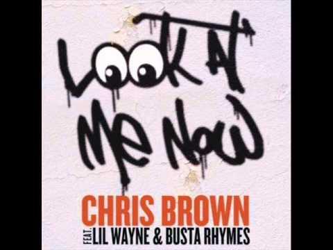 Video Chris Brown - Look At Me Now (ft. Lil Wayne & Busta Rhymes) - Instrumental download in MP3, 3GP, MP4, WEBM, AVI, FLV January 2017