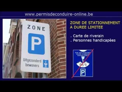 27. ZONE BLEUE - DISQUE DE STATIONNEMENT