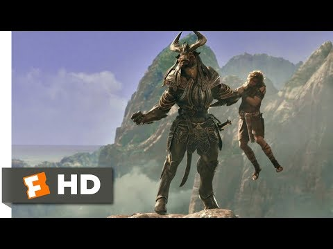 Gods of Egypt (2016) - Minotaur Attack Scene (4/11) | Movieclips