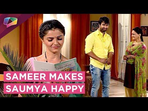 Sameer Gifts Flowers And Card To Saumya|Shakti