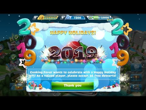 Cooking Fever EXTRA GIFT And GEMS For 2019