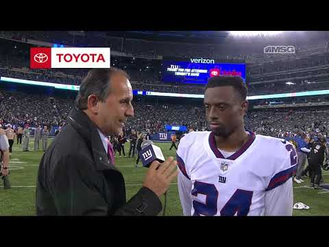 Eli Apple Goes Over Loss to Eagles   New York Giants   MSG Networks