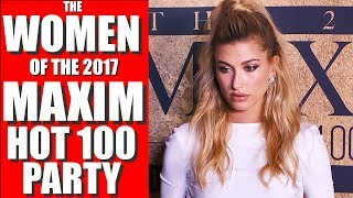 MAXIM HOT 100 PARTY 2017 Interviews Red Carpet Hailey Baldwin, Blac Chyna, Emily Sears, & More