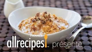 Porridge au potiron