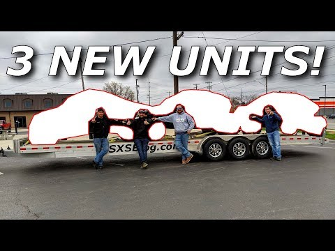 THREE NEW UNITS!  Um, What? Talon? YXZ? X3? RZR? XX?