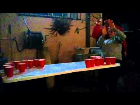Our funniest beer pong game.