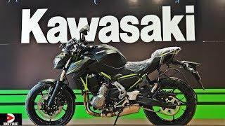 3. 2019 Kawasaki Z650 Unboxing Walkaround #Bikes@Dinos