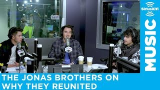 Jonas Brothers on Why They Decided to Reunite