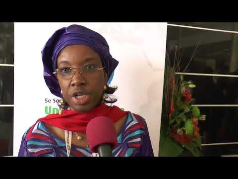 COTE D'IVOIRE: Interview MRS, SIDIBE FATOUMATA KABA AU 5ème SOMMET L'UA/UE